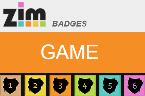 ZIM Badges is uses pictures as an answer so may be difficult to follow for those who cannot read code on pictures.  The steps are all in text.